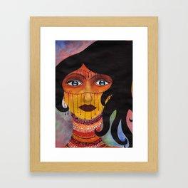 Negra Framed Art Print
