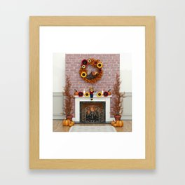 Harvest Hearth Framed Art Print