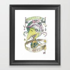 natal 4ever Framed Art Print