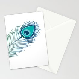 Peacock Feather for HOPE Stationery Cards