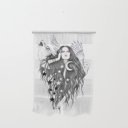 Moon Witch Wall Hanging