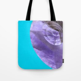 Light Blue Mystical Powers of Amethyst #society6 Tote Bag