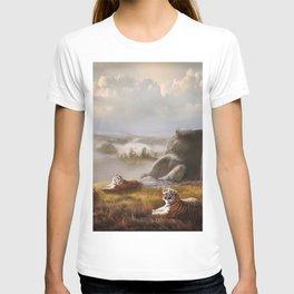 Endangered Siberian Tigers T-shirt