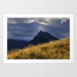 Boca De La Pesca At Windy Sunset. 1.518 Meters Art Print