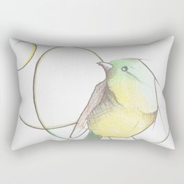 Vida de pájaro Rectangular Pillow