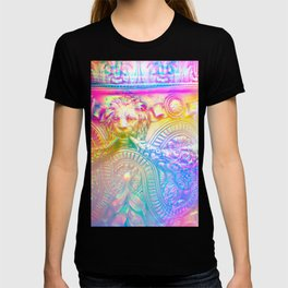 Antique Rainbow Rome - Travel Photography T-shirt