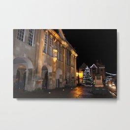 Christmas Lights of Monmouth Town Metal Print