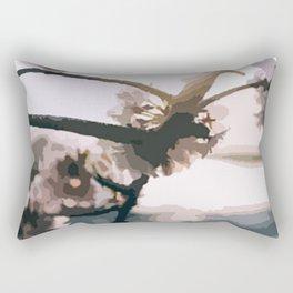 Japanese tree Rectangular Pillow