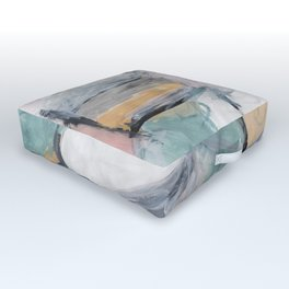 """The """"Oh"""" Abstract Outdoor Floor Cushion"""