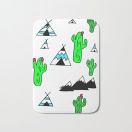 TeePee Party Bath Mat