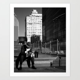My Kind of Town Art Print