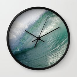 Dreamy Greens Wall Clock