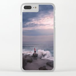 Lover's Rock Clear iPhone Case