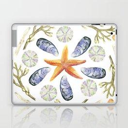 Tide Pool Beach Mandala 3 - Watercolor Laptop & iPad Skin