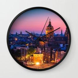 AMSTERDAM 04 Wall Clock