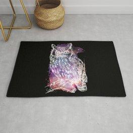 Cosmic Owl Rug