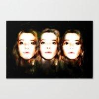 okay Canvas Prints featuring OKAY by Beka Lerner