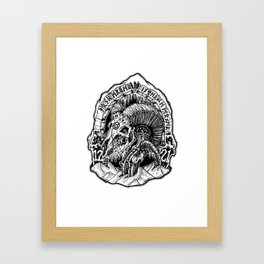 horde Framed Art Print