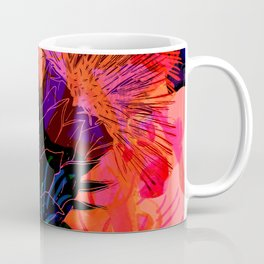 Floral constellation Coffee Mug