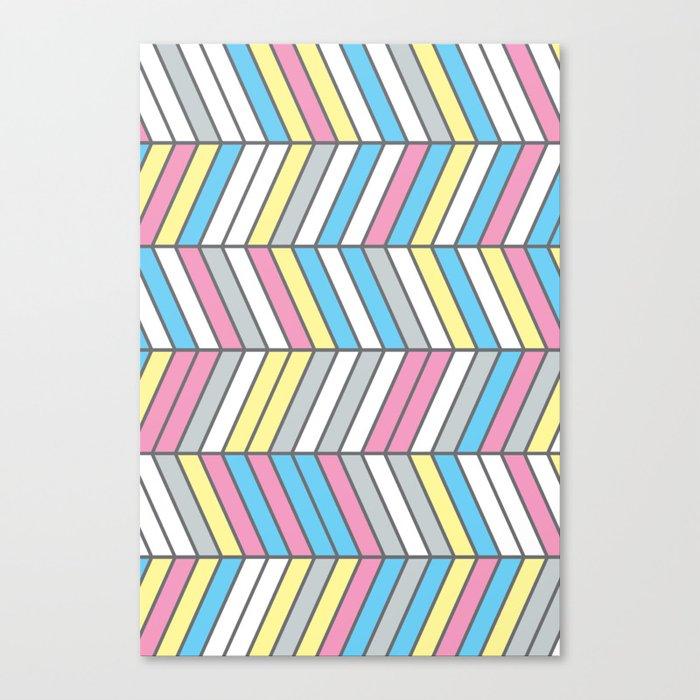 Four Colour Process Canvas Print