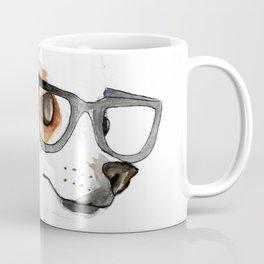 Chihuahua Hipster Coffee Mug