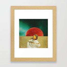 UNTITLED (Big day for little guests) Framed Art Print