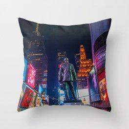 George M. Cohan Throw Pillow