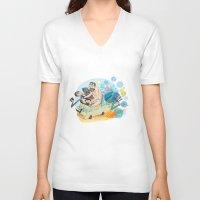 breaking bad V-neck T-shirts featuring Breaking Bad by breakfastjones