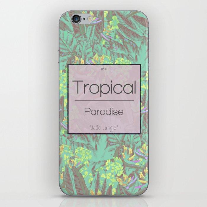 Tropical Paradise: Jade Jungle iPhone Skin