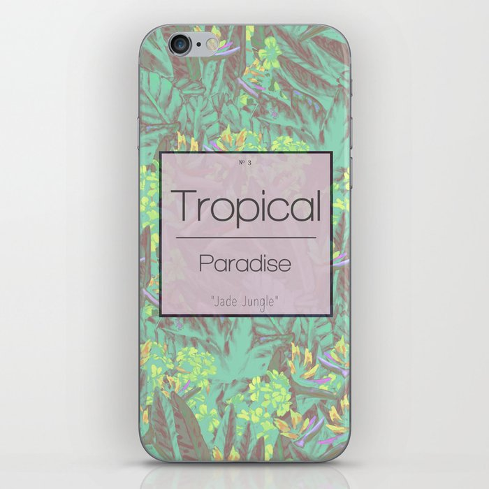 Tropical Paradise: Jade Jungle iPhone Skin