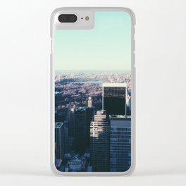 Take me back to the city Clear iPhone Case