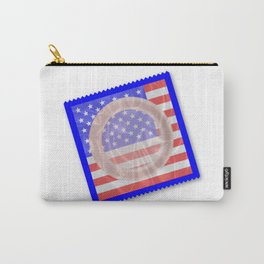 Stars And Stripes Condom Carry-All Pouch