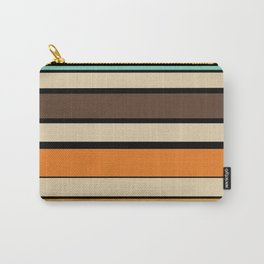 Retro 60s stripes Carry-All Pouch