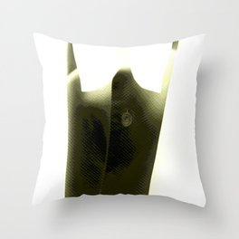 Vintage: X-Ray Fred Throw Pillow