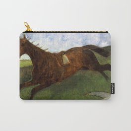 Injured Jockey Carry-All Pouch