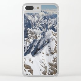 View from Zugspitze Clear iPhone Case