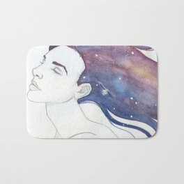 Follicular Galaxy Bath Mat
