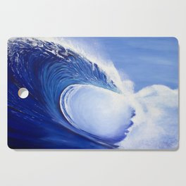 Ocean Wave Painting Cutting Board