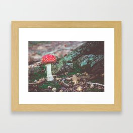 Under the Oak Framed Art Print