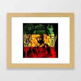 Haile Selassie Lion of Judah Framed Art Print
