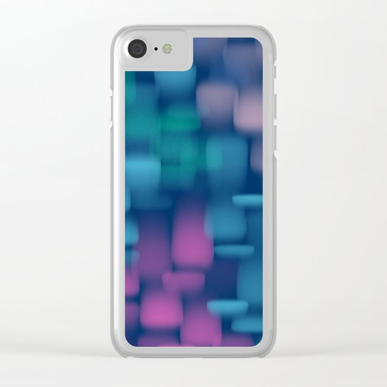 Chayabrito #1 Clear iPhone Case