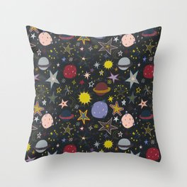 look up, the stars! Throw Pillow
