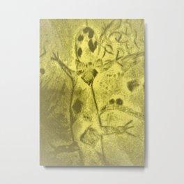 Old footprint Metal Print