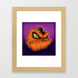Punkin Head Framed Art Print