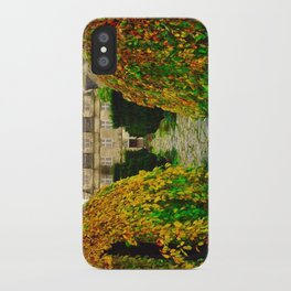 Barnsley House In The Fall iPhone Case