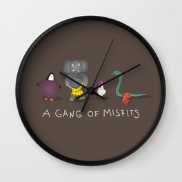 Misfit Wall Clock