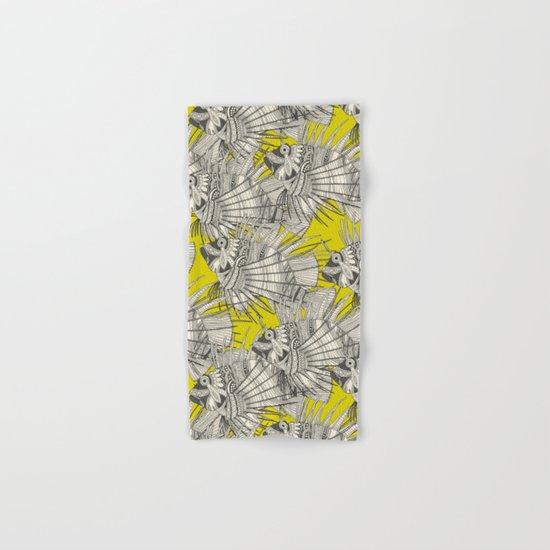 fish mirage chartreuse Hand & Bath Towel