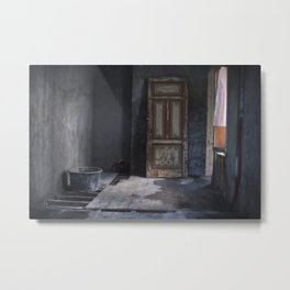A Door to Nowhere Metal Print