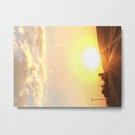 Pit 36 Fire Metal Print
