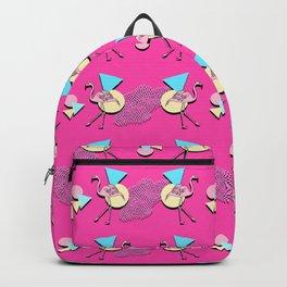 80s Flamingos Backpack